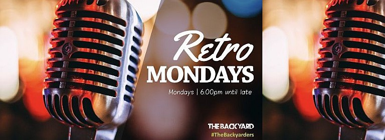 The Backyard Retro Mondays