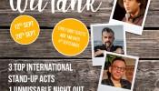 The Laughter Factory 'Summer, WitTank' Sep 2019 Abu Dhabi w/ Pat Burtscher, Andy White & Markus Birdman