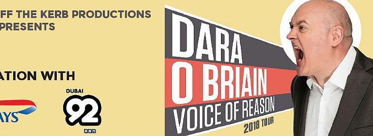 DXBLaughs presents Dara O'Briain Voice of Reason Tour