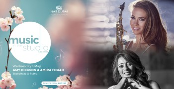 Music in the Studio 2019: Amy Dickson and Amira Fouad