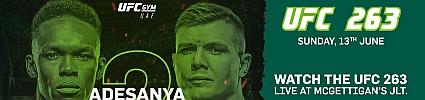 UFC 263: Adesanya vs. Vettori 2 Live Screening