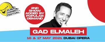 Dubai Comedy Festival 2021: Gad Elmaleh