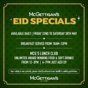 McGettigan's JLT Eid Specials 2020