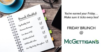 McGettigan's JLT Four Hour Friday Brunch