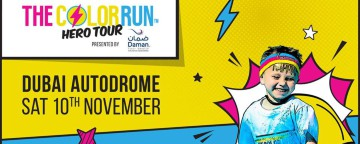 The Color Run Hero Tour presented by Daman 2018