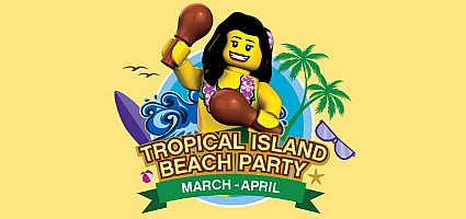 Legoland® Dubai Tropical Island Beach Party