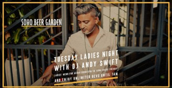 Soho Beer Garden Ladies Night