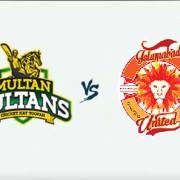PSL 2018: Multan Sultans v Islamabad United - 13 Mar