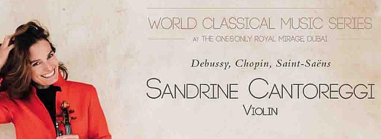 World Classical Music Series presents Sandrine Cantoreggi & Sheila Arnold