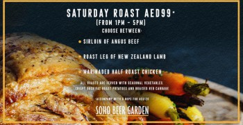 Soho Beer Garden Saturday Roast