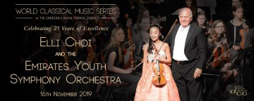 World Classical Music Series presents Elli Choi & Emirates Youth Symphony Orchestra
