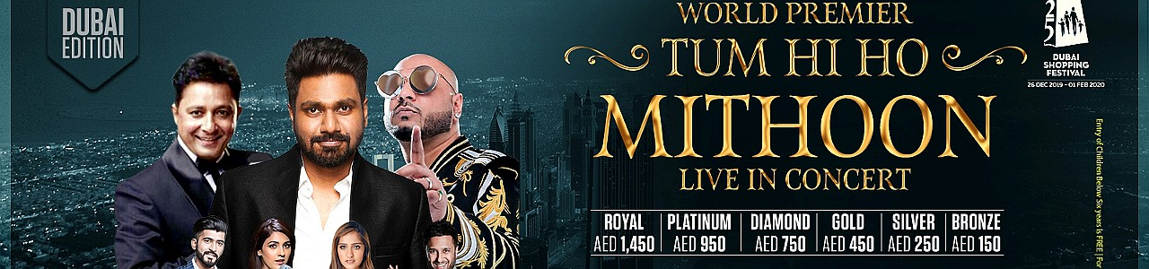 Mithoon Live In Concert 2020