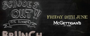 McGettigan's JLT School's Out for Summer Brunch 2019