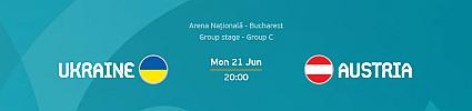 Euro 2020: Ukraine vs Austria