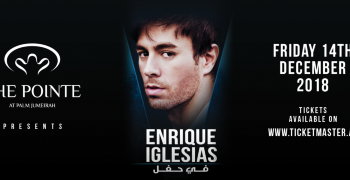 The Pointe presents Enrique Iglesias Live in Dubai