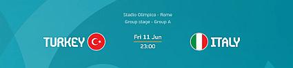 Euro 2020: Turkey vs Italy