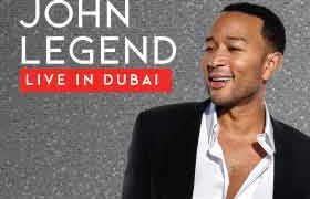 John Legend Live in Dubai 2020