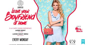 Cavalli Club LYBAH (Leave Your Boyfriend at Home) Ladies Night