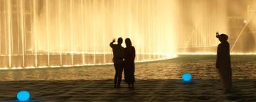 The Dubai Fountain Boardwalk