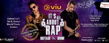 It's All about Rap presents RaftaaR & DIVINE Live in Concert 2019