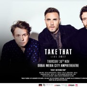 Take That Live in Dubai 2017