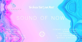 Cove Beach Sound Of Now - All About Live Production