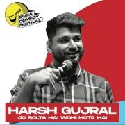 Dubai Comedy Festival 2021: Harsh Gujral 'Jo Bolta Hai Wohi Hota Hai'