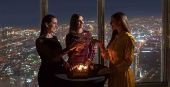 The Lounge - Burj Khalifa Bubbly Sundowner