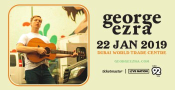 George Ezra Live in Dubai