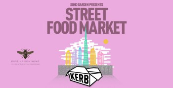 Soho Garden presents KERB Street Food Market