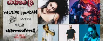dxbeats 2018 w/ Yasmine Hamdan, Sharmoofers, The Wanton Bishops & More