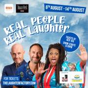 The Laughter Factory's 'Real People, Real Laughter!' Tour August 2020