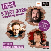 The Laughter Factory's 'Start 2020 Completely Wrong!' Dubai Tour w/ Stephen Grant, Matt Reed & Peter White