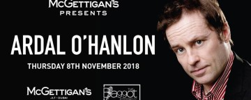 McGettigan's presents Ardal O'Hanlon Live in Dubai