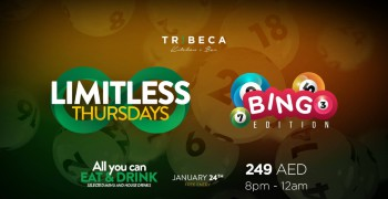 Tribeca Limitless Thursdays - Bingo Edition!
