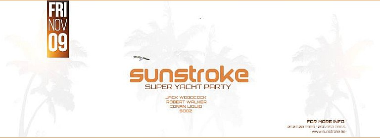 Sunstroke Super Yacht Party - Nov 2018