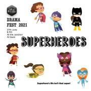 The Hive Theatre 2021: Superheroes
