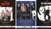 Win a Meet & Greet with BUSTED, BOYZONE or THE PROCLAIMERS + AED 500 F&B Vouchers