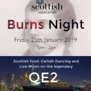 Scottish Association Burns Night