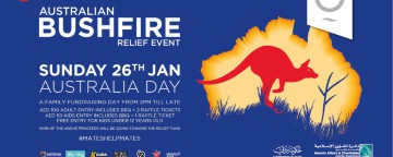 Australia Day Bushfire Relief Event