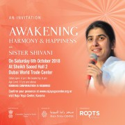 Awakening Harmony & Happiness with Sister Shivani