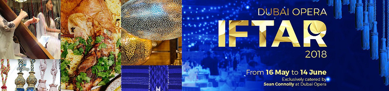Dubai Opera Iftar 2018