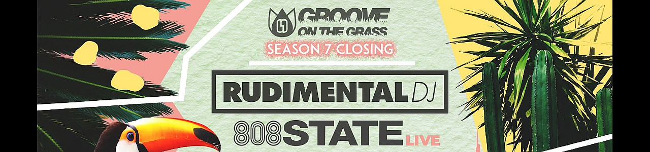 Groove On The Grass w/ Rudimental & 808 State Live