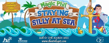 Magic Phil Staying Silly at Sea