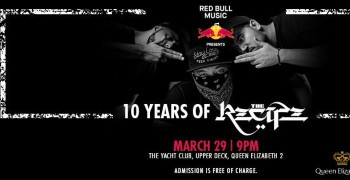 Red Bull Music presents The Recipe - 10th Year Anniversary