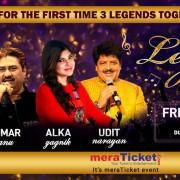 Legends Forever w/ Kumar Sanu, Alka Yagnik & Udit Narayan