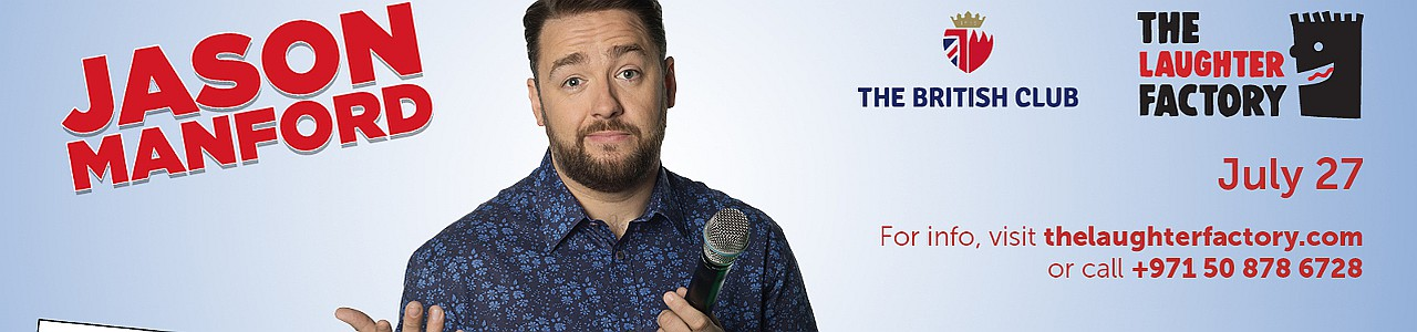 The Laughter Factory Presents Jason Manford 'Muddle Class Tour' Live in Bahrain 2019