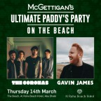 McGettigan's ULTIMATE Paddy's Party w/ Gavin James and The Coronas