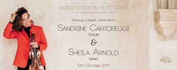 World Classical Music Series presents Sandrine Cantoreggi & Sheila Arnold