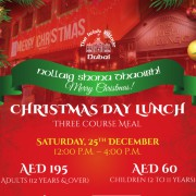 The Irish Village GARHOUD Christmas Day Lunch 2021